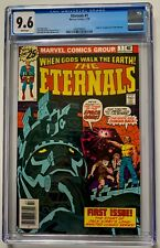 Eternals #1 CGC 9.6 WHITE (1976)  ~ 1st appearance of the Eternals ~ MCU Movie!