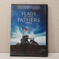 Flags of Our Fathers Widescreen Edition Very Good DVD Paul Walker Jamie Bell