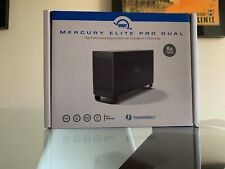 OWC Mercury Elite Pro Dual 8TB 2-Bay Thunderbolt 2 RAID Array USB 3.1