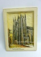 Osborne IVOREX Plaque The Western Towers Canterbury Cathedral 1921