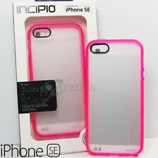 New INCIPIO Octane Clear Slim Case for Apple iPhone SE 5s 5 - Frost PINK Bumper