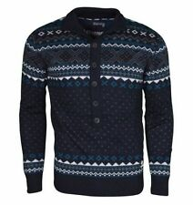 Men's Chunky, Cable Knit Knit Fair Isle, Nordic Wool Blend Jumpers & Cardigans