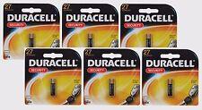6~ 27 DURACELL 12V  Alkaline Battery 8LR732, A27, MN27, A27BP, G27A, L828