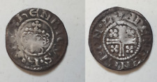 More details for medieval hammered silver king henry short cross penny london mint coin lot ehc13