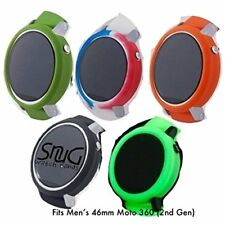 SnuG Watchbands Accessories Moto360 46mm Bumper Cases For The Larger 2nd Gen NEW