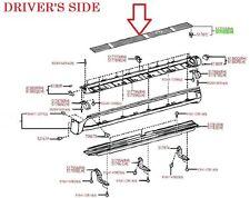 LEXUS OEM FACTORY DRIVERS SIDE RUNNING BOARD STEP PLATE 2003-2009 GX470