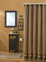 Shower Curtain - Shades of Brown by Park Designs - Bathroom