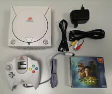 SEGA Dreamcast (Japanische Ver.)weiß, Controller, Spiel, Spannungswandler