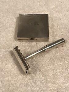 Sterling Silver Gillette Safety Razor