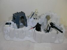 """Vintage Star Wars ESB 1980 Imperial Attack Base """"Complete"""" w/Darth & Troopers^"""