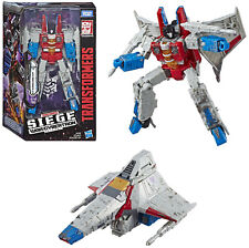 Transformers ~ STARSCREAM FIGURE ~ Voyager Class ~ Siege: War For Cybertron