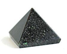 Crystal For Protection - Black Obsidian Pyramid Natural Gemstone Healing Gift