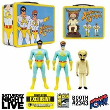 The Ambiguously Gay Duo and Bighead 3 3/4-Inch Figures in Tin Tote