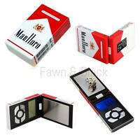 Electronic Digital Pocket Weighing Scale Cigarette Box LCD Display 200g / 1000g