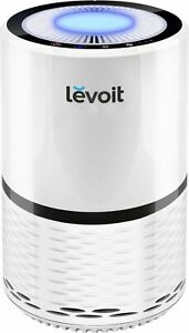 Levoit - Aerone 129 Sq. Ft True HEPA Air Purifier - White