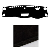 Black Dash Mat Cover for 08/2016 ~ 2020 Holden Colorado LTZ LTZ+ Z71 4x4
