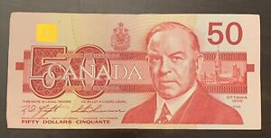1988 - Canadian 50$ One Fifty Dollar Banknote, Bank Of Canada