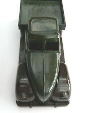 Altes Sanders Bakelit Spielzeug Auto, Kastenwagen