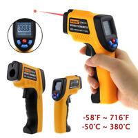 Thermometer IR Infrarot Digital Laser Temperature Messgerät -50 bis 900°C DE