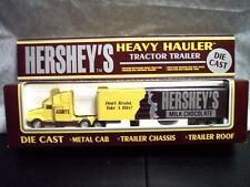 K-Line Hershey's Milk Chocolate Tractor Trailer 1/48 Scale Die Cast. LOOK INSIDE