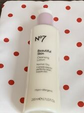 Boots No7 Beautiful Skin Cleansing Lotion 200ml For Normal/Dry Skin