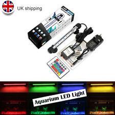 18cm Aquarium RGB LED Light Full Spectrum Aqua Plant Fish Tank Coral Lamp UK