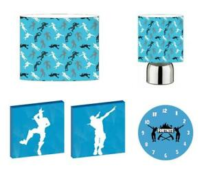 FORTNITE - Light Shade ,Touch Lamp, Wall Art, Wall Clock or Bundle