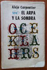 """1979 Book """"El Arpa Y La Sombra"""" Alejo Carpentier Novel Literature Novela"""