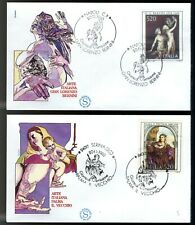 ITALIA 1980 - FDC FILAGRANO - Arte - 7ª emissione: Palma il Vecchio e Bernini