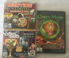 PC Bundle/Lot Green Moon Hunting Unlimited Excursion 3 Pack + Angel Code Vampire