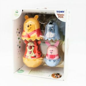 Winnie The Pooh Stacking Cups Nesting Doll Baby Toy NOS