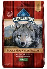 Blue Buffalo Wilderness Adult Rocky Mtn Recipes Red Meat - Grain Free 10 lb