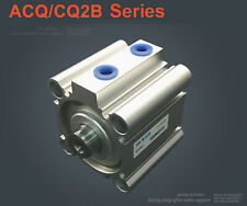 NEW Pneumatic CQ2B25-30D Double Acting Compact Air Cylinder SMC Type