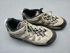 Solomon Size 9.5 Men's Brown Lace Leather Athletic Contagrip Shoes 1A