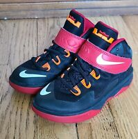 2014 Nike Zoom Lebron Soldier VIII 8 Basketball Shoes 653646 006 Boy's Size 11c