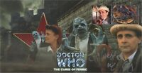 """Doctor Who """"The Curse Of Fenric"""" Collectable Stamp Cover Signed SYLVESTER McCOY"""