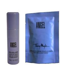 Thierry Mugler ANGEL Pefuming Hair Mist 5ml & Pefuming Hand Cream 10ml - NEW