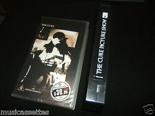 THE CURE PICTURE SHOW AUSTRALIAN VHS VIDEO PAL FORMAT