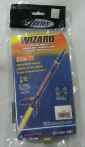 ESTES 1292 WIZARD FLYING MODEL ROCKET KIT NEW NIP