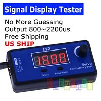 Adjustment Steering Gear Tester CCPM 3-Mode ESC Servo Motor for RC Car Airplanes