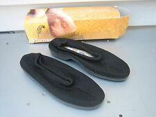 PLUMEX STRIDE BLACK KNIT SHOE SIZE 37/4 WOMEN'S NEW W/DAMAGED BOX