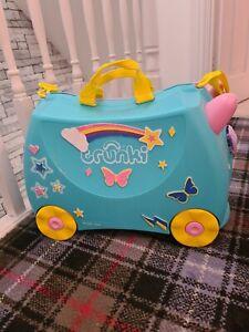 Girls ride-on kids Trunki suitcase