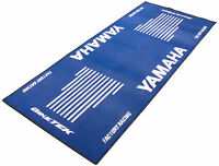NEW YAMAHA XT MT09 TRACER ADVENTURE MOTORCYCLE MOTORBIKE GARAGE PIT MAT BLUE