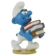 Schtroumpf pile de livres figurine pixi 6431 boîte et certificat