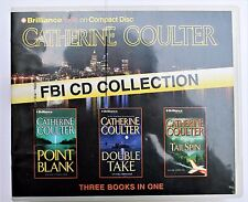 FBI Coulter: Point Blank, Double Take, Tailspin Audiobooks - FREE SHIPPING!!!