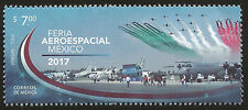 J) 2017 MEXICO, AEROSPACE TRADE FAIR IN MEXICO, MNH