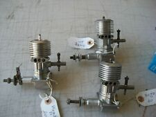 3 USED BUZZ D .60 IGNITION ENGINES
