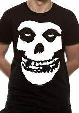 Official T Shirt MISFITS- CLASSIC FIEND SKULL All Sizes Black Mens Licensed New