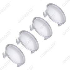 4 universelle roue en alliage aluminium pour les chapeaux de roues Mic-Argent Ø 75 mm