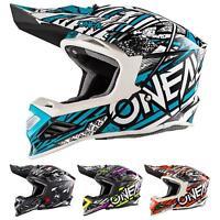 O'Neal 8Series MX Helm Synthy Moto Cross Enduro Offroad Quad Motorrad Fiberglas